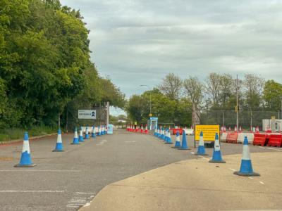 ExpressTest Gatwick Drive Through entrance