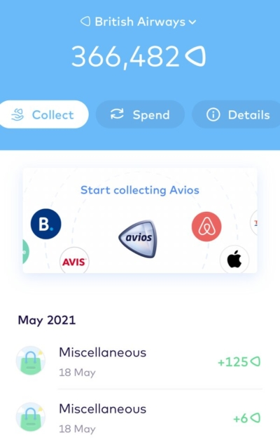 Monese and Avios partnership