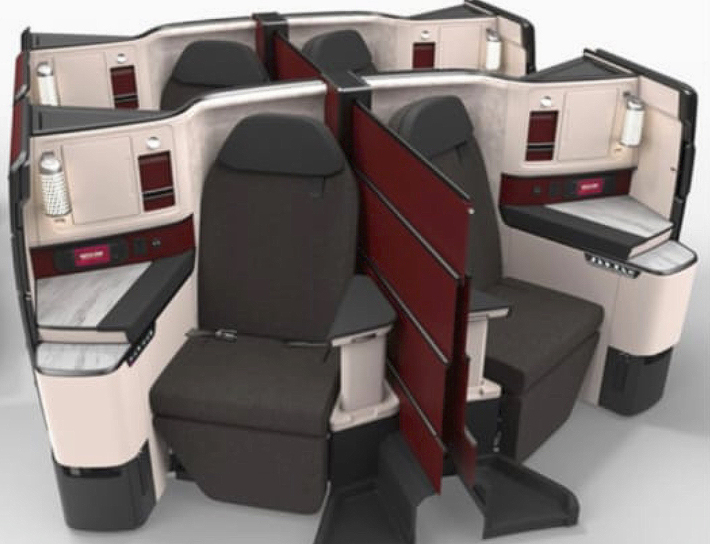 Qatar Airways Qsuite 787-9