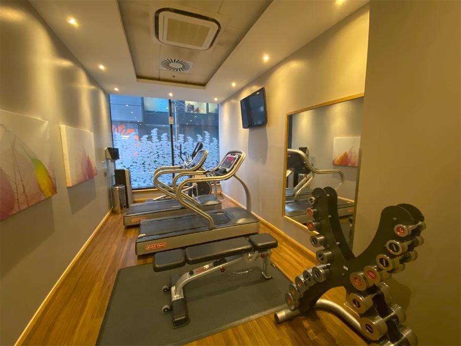 Residence Inn Edinburgh gym