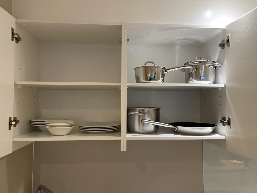 Residence Inn Edinburgh suite pots pans