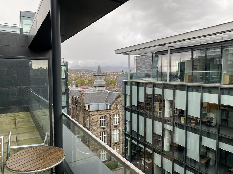 Residence Inn Edinburgh view