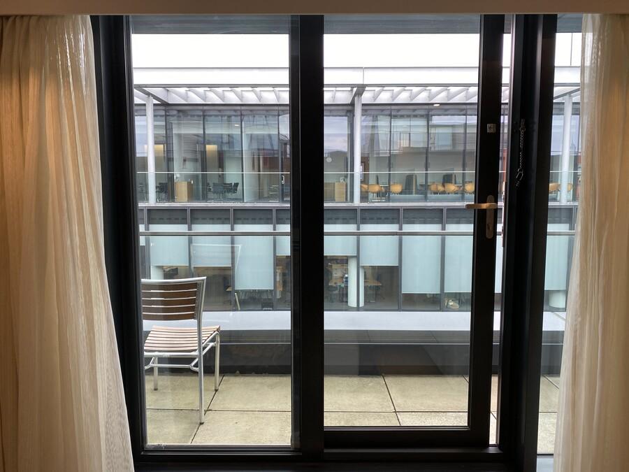 Residence Inn Edinburgh window
