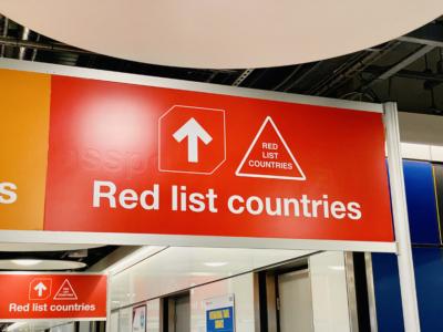 UK green list red list