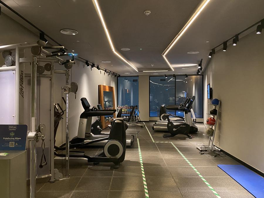 Hilton Bankside gym