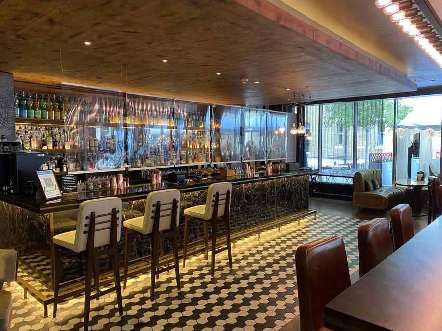 Hilton London Bankside Distillery bar