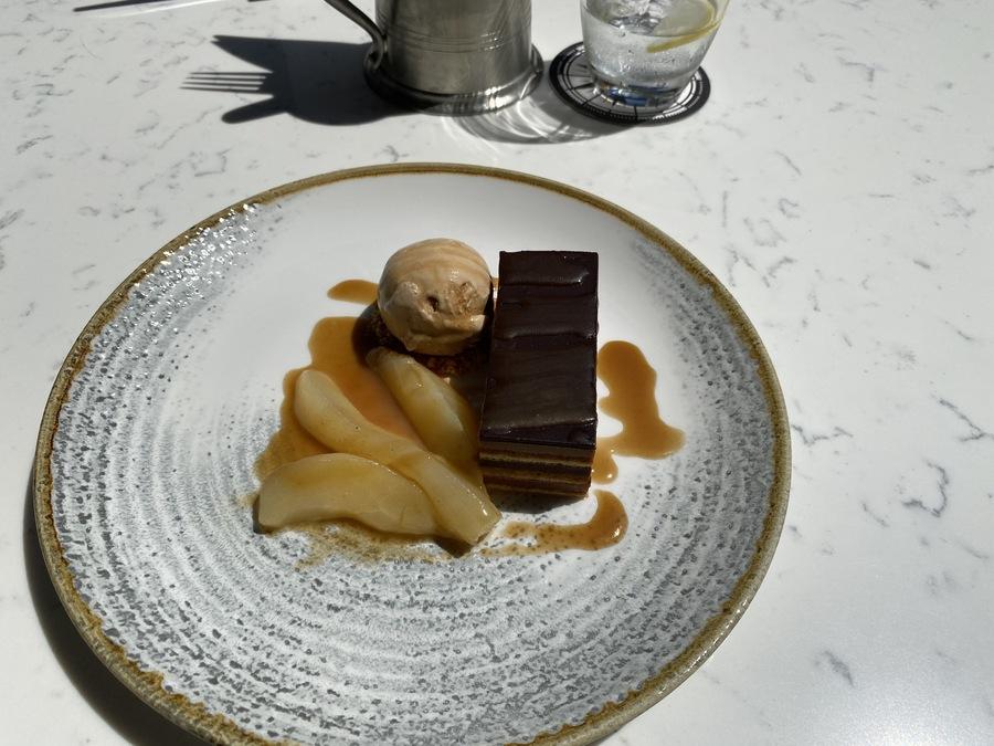 Hilton London Bankside chocolate delice
