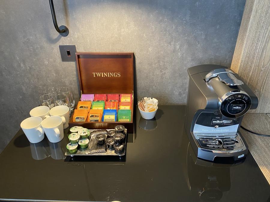Hilton London Bankside coffee machine