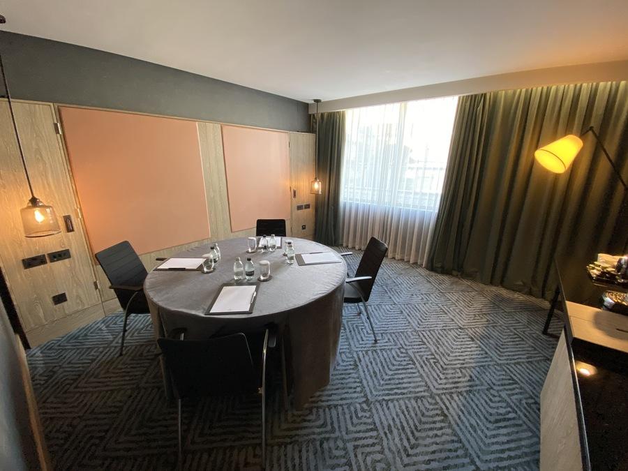 Hilton London Bankside meeting room