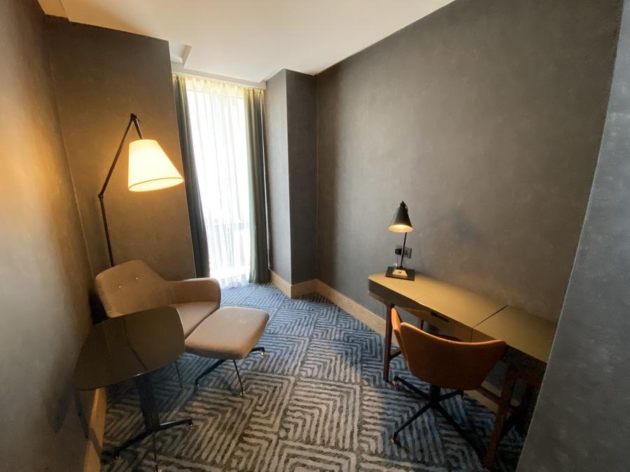 Hilton London Bankside study room