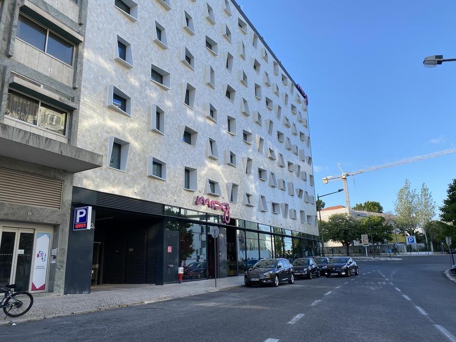 Moxy Lisbon City exterior