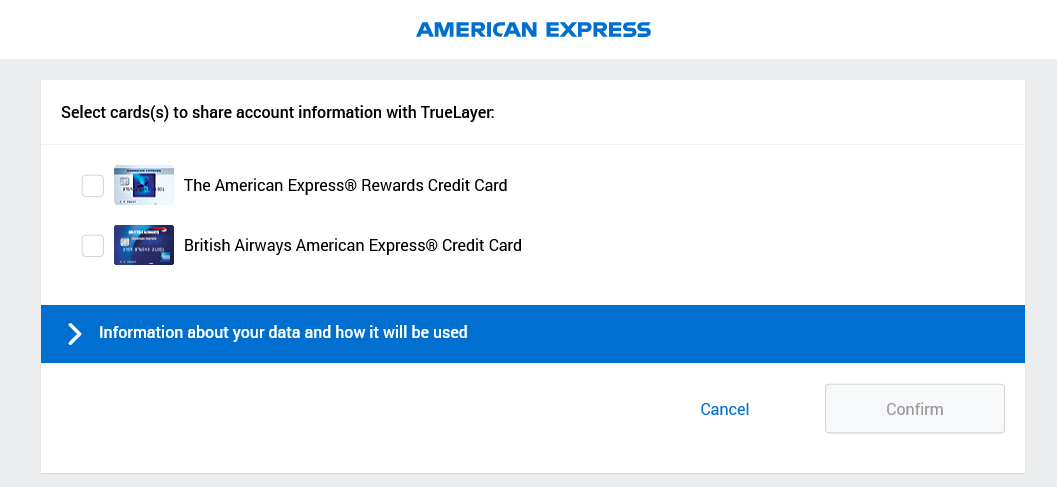 Nectar Connect American Express