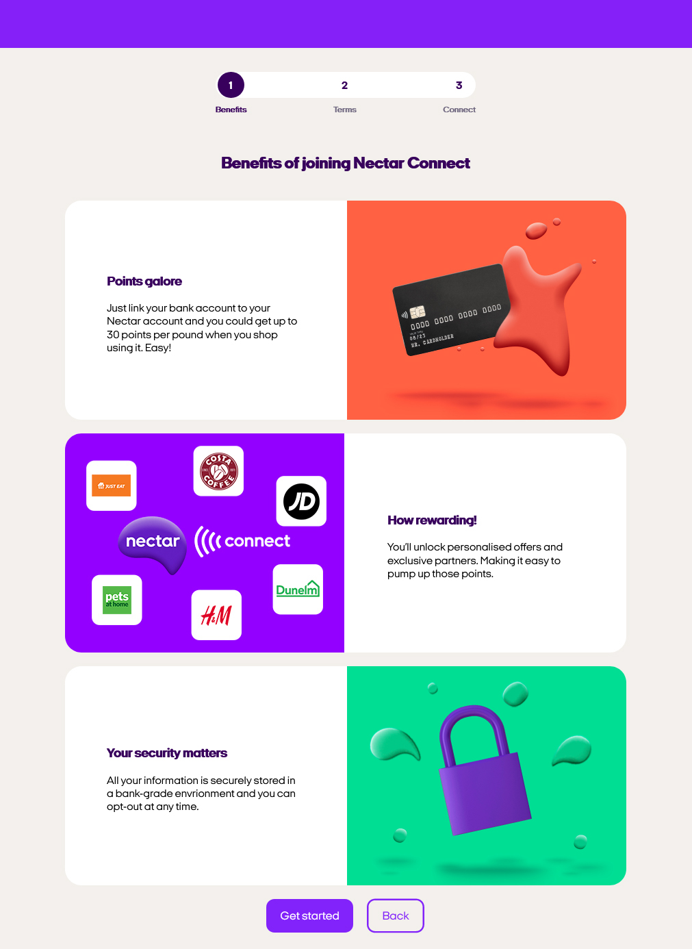 Nectar Connect benefits