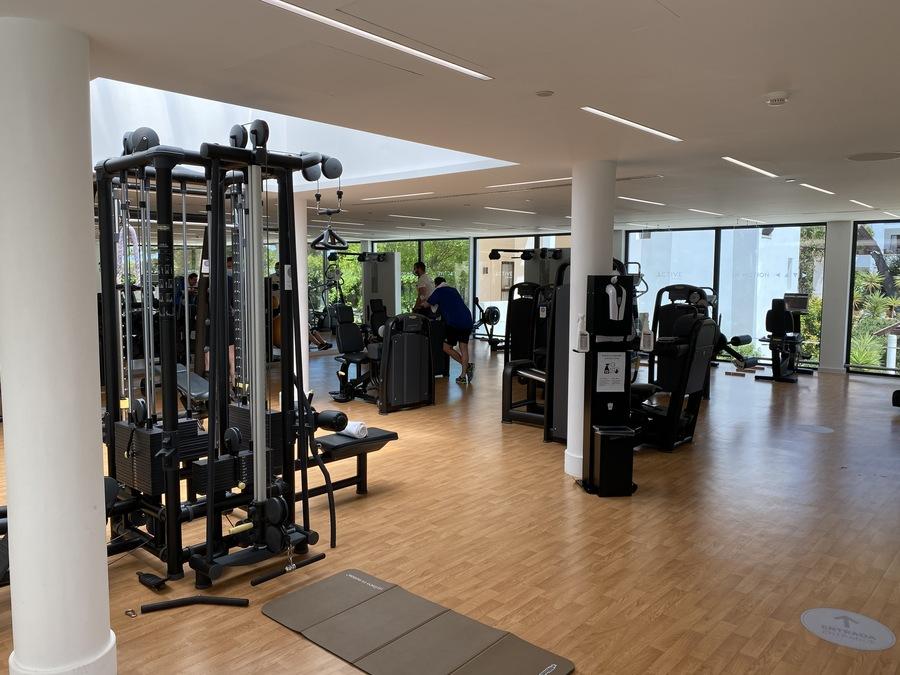 Pine Cliffs gym