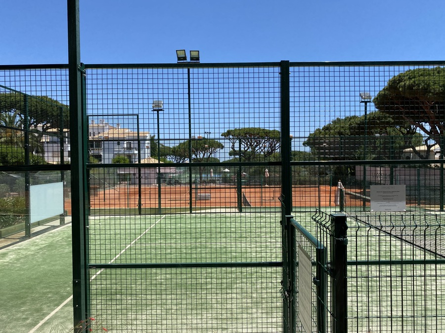 Pine Cliffs tennis courts