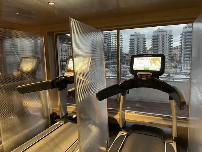 Sunborn Yacht Hotel Gibraltar gym