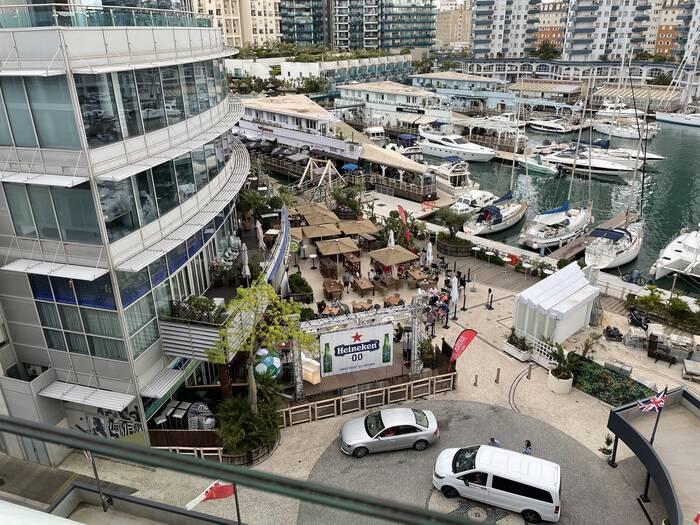 Review Sunborn Yacht Hotel Gibraltar