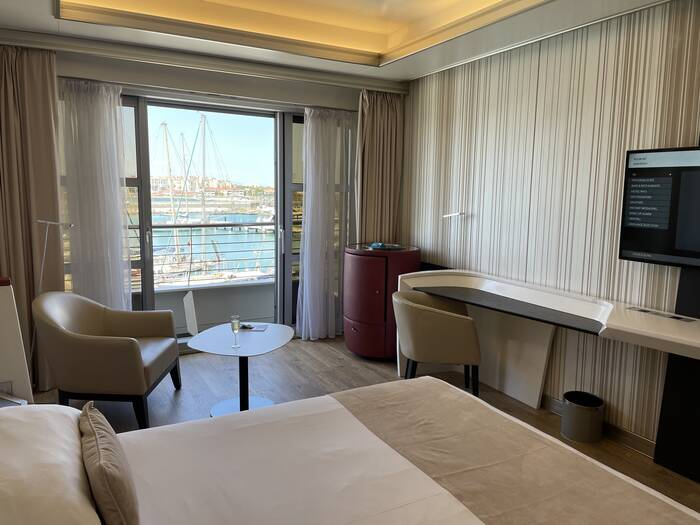Sunborn Yacht Hotel room Gibraltar