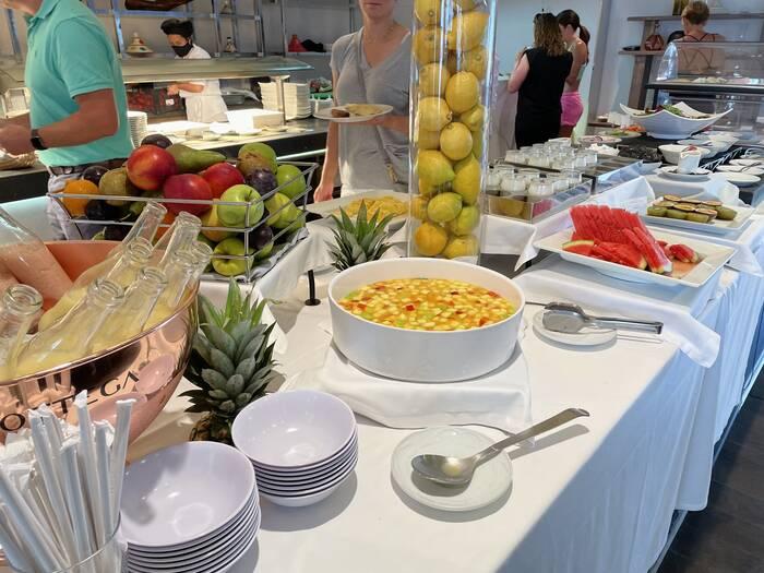 Sunborne Yacht Hotel Gibraltar breakfast