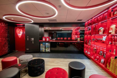 Virgin Red Room suite AO Arena Manchester