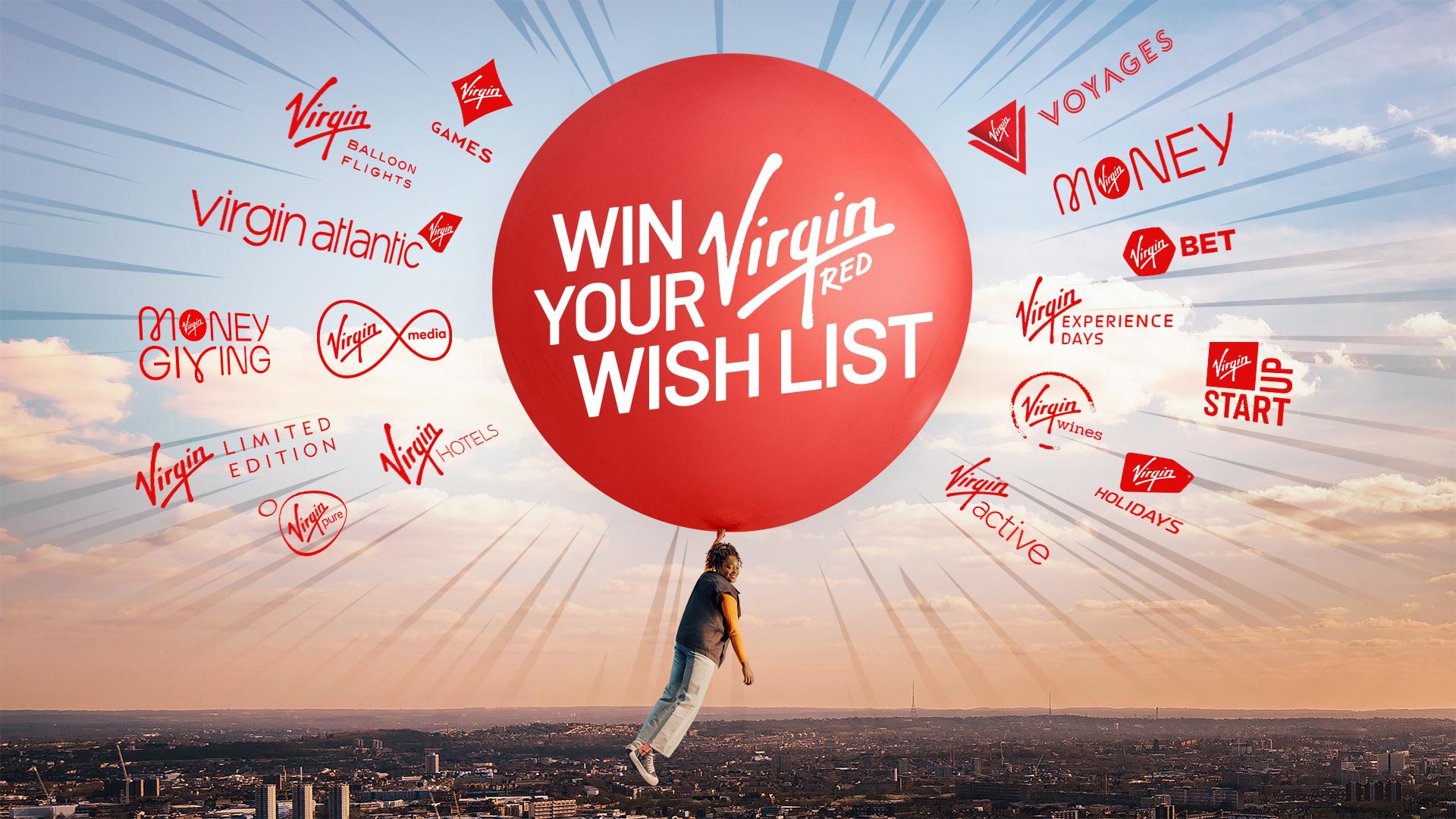 Virgin Red Wish List