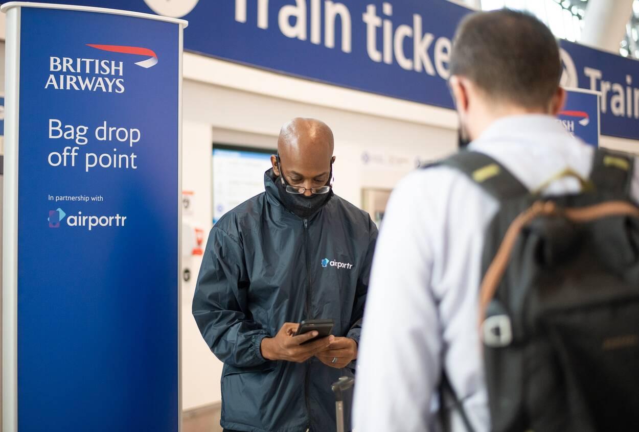 Airportr British Airways Terminal 5 partnership