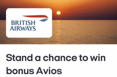 Win bonus Avios and Nectar points