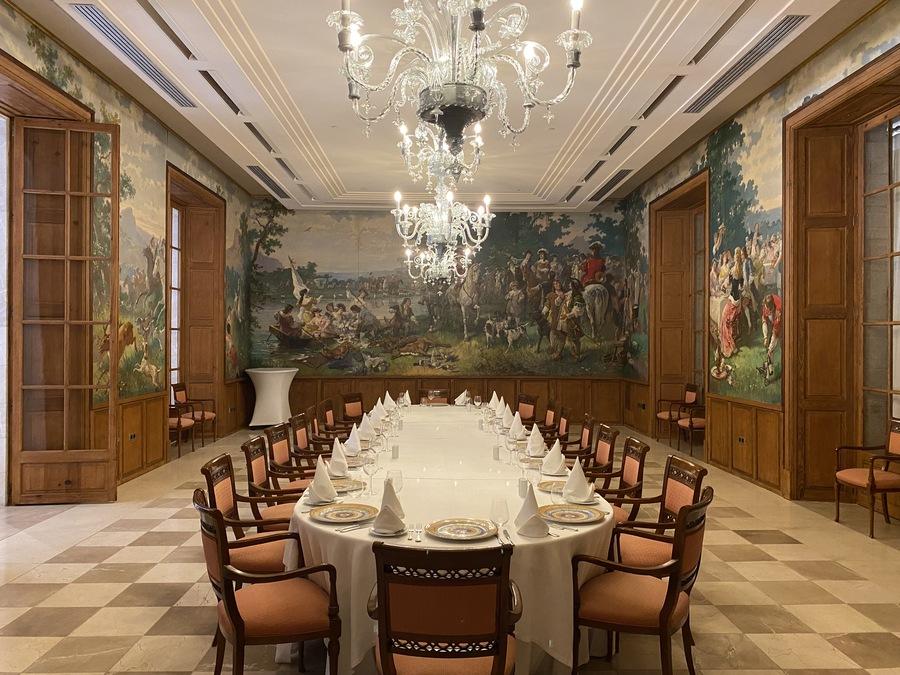 Castillo Hotel Son Vida banquetting room