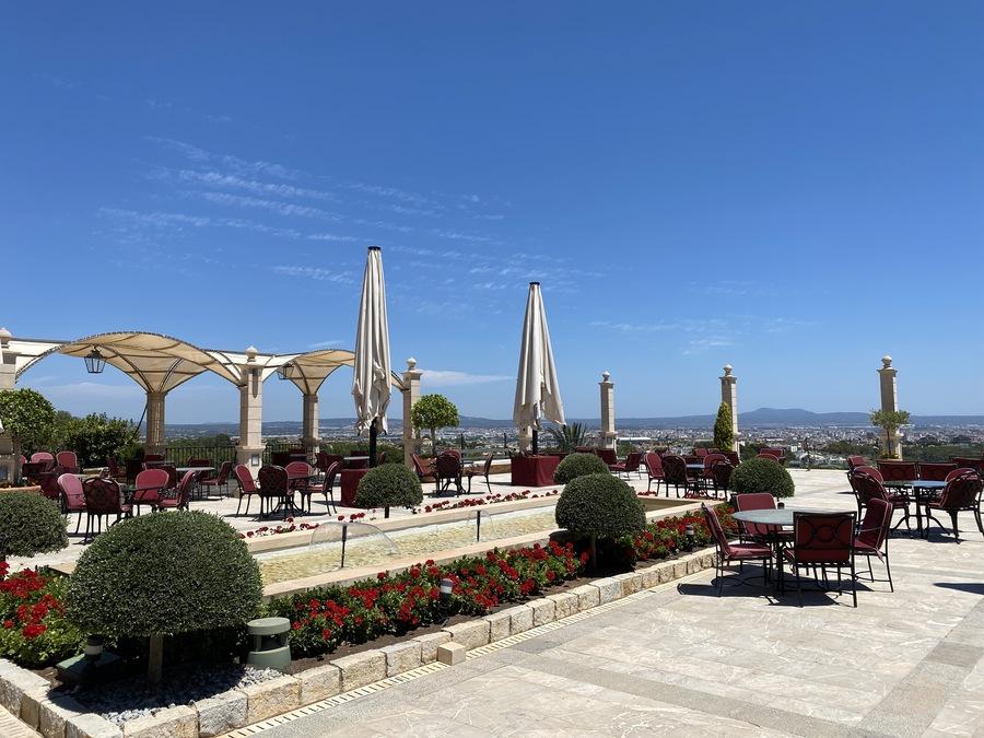 Castillo Hotel Son Vida bar terrace