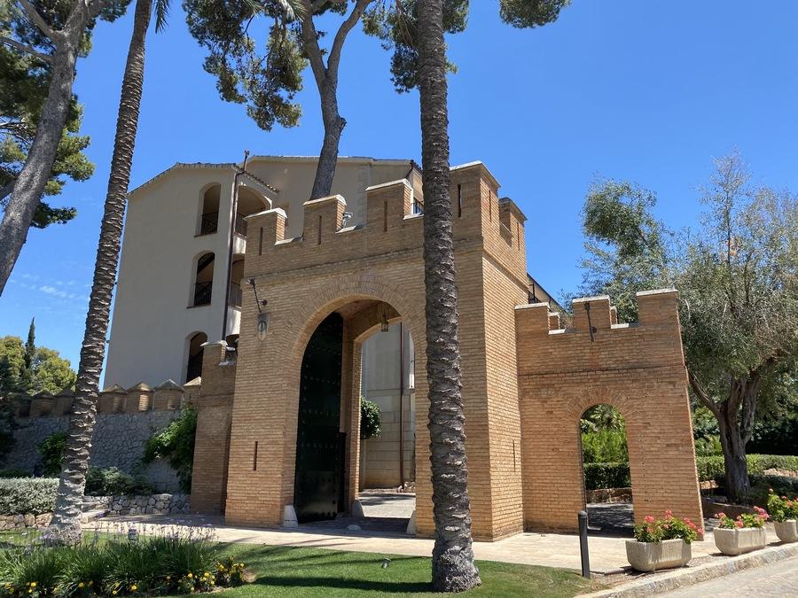 Castillo Hotel Son Vida gate