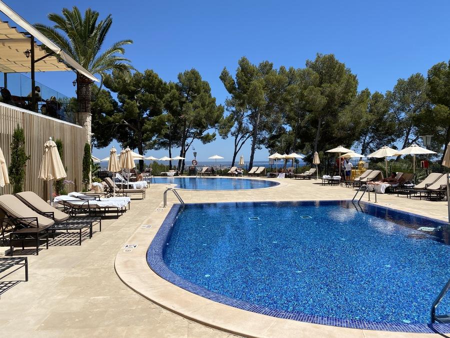 Castillo Hotel Son Vida pool