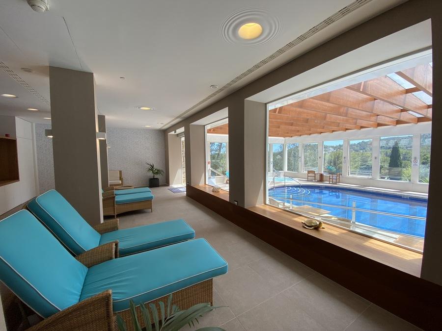 Castillo Hotel Son Vida spa pool 2