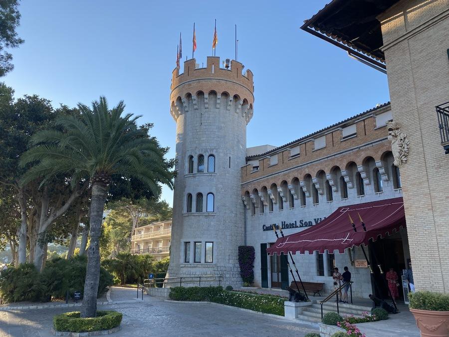 Castillo Hotel Son Vida tower