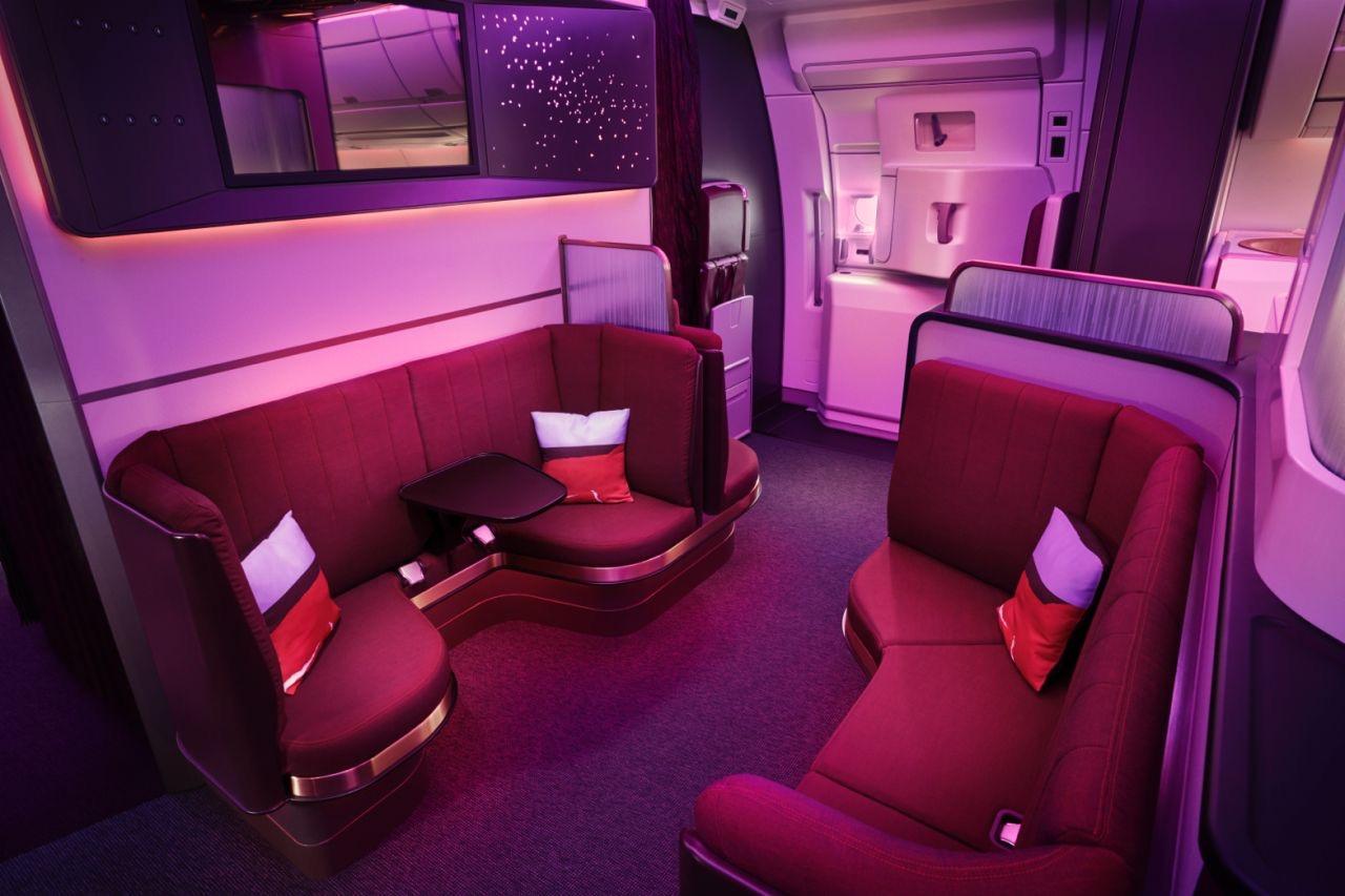 The Loft Virgin Atlantic Upper Class A350