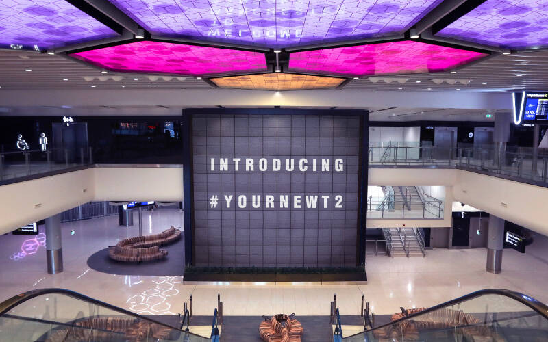 Manchester Airport Terminal 2 opens today