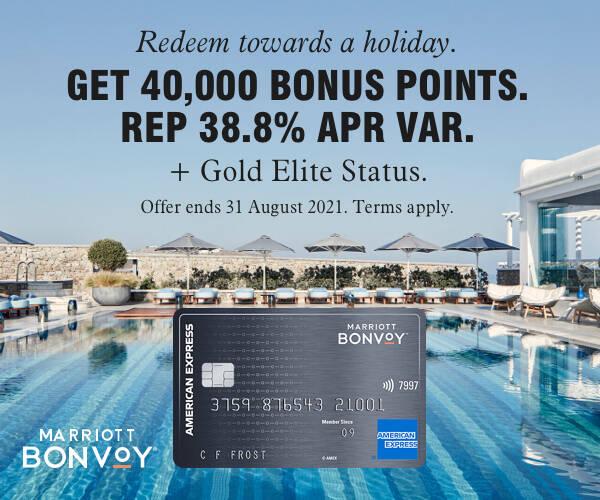 Marriott Bonvoy American Express 40,000 point bonus offer