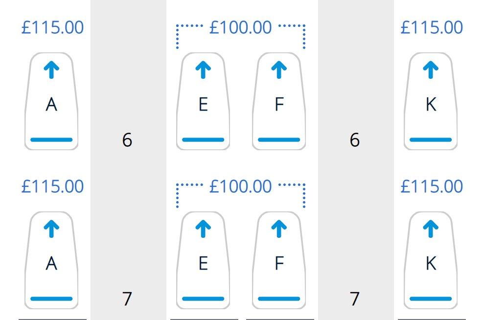 cost of british airways seat reservation