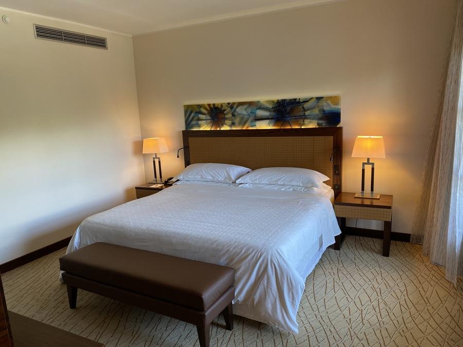 Sheraton Mallorca Arabella bed