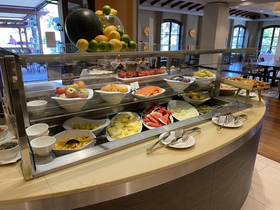 Sheraton Mallorca Arabella breakfast fruit