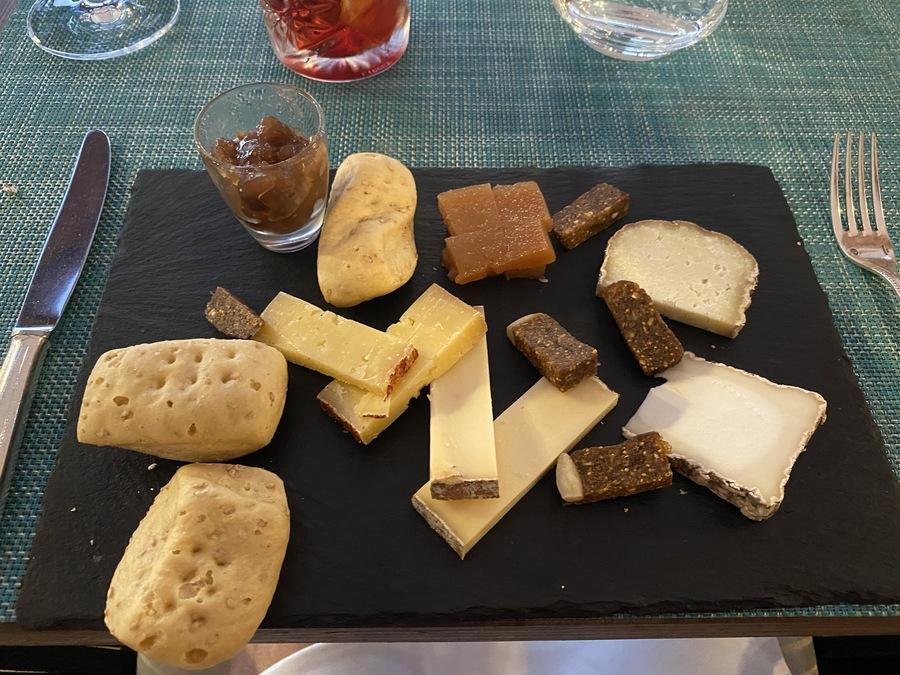 Sheraton Mallorca Arabella cheese board