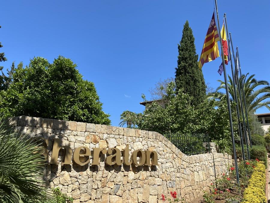 Sheraton Mallorca Arabella sign