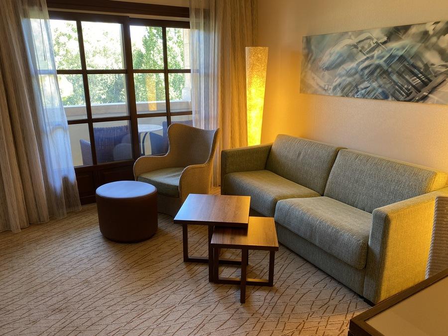 Sheraton Mallorca Arabella suite lounge