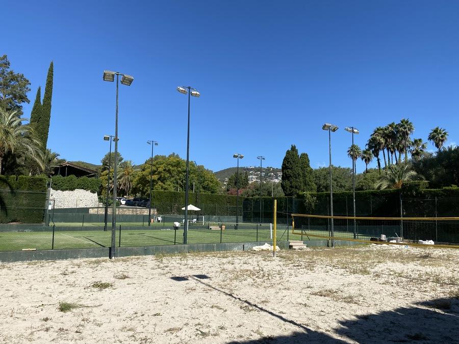Sheraton Mallorca Arabella volleyball