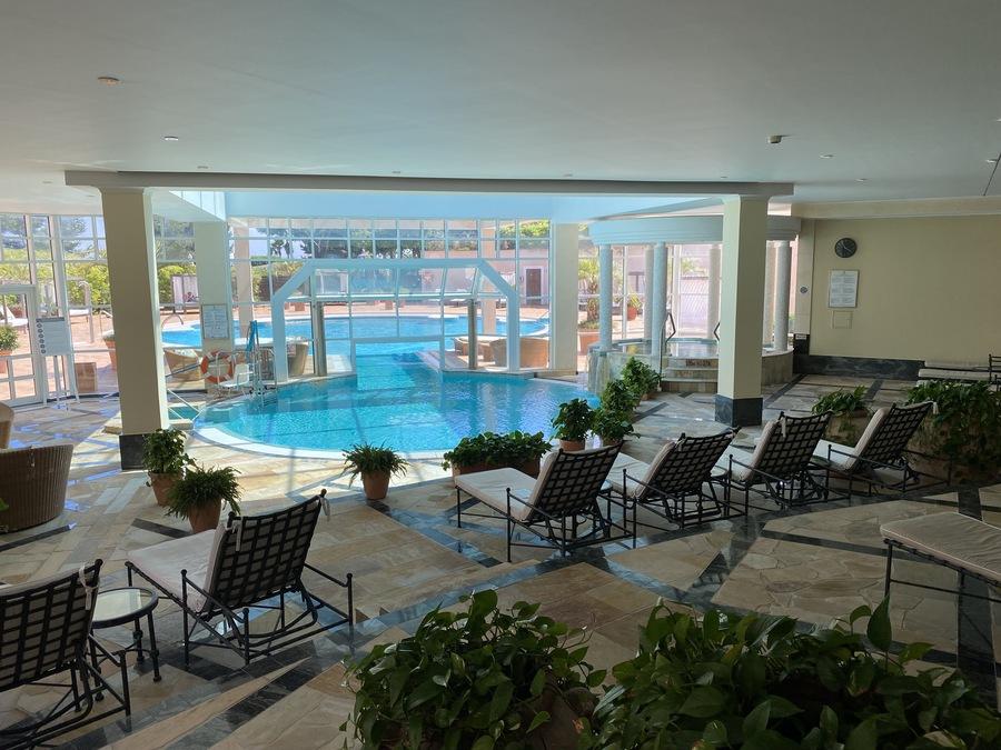 St Regis Mardavall Arabella Spa pool