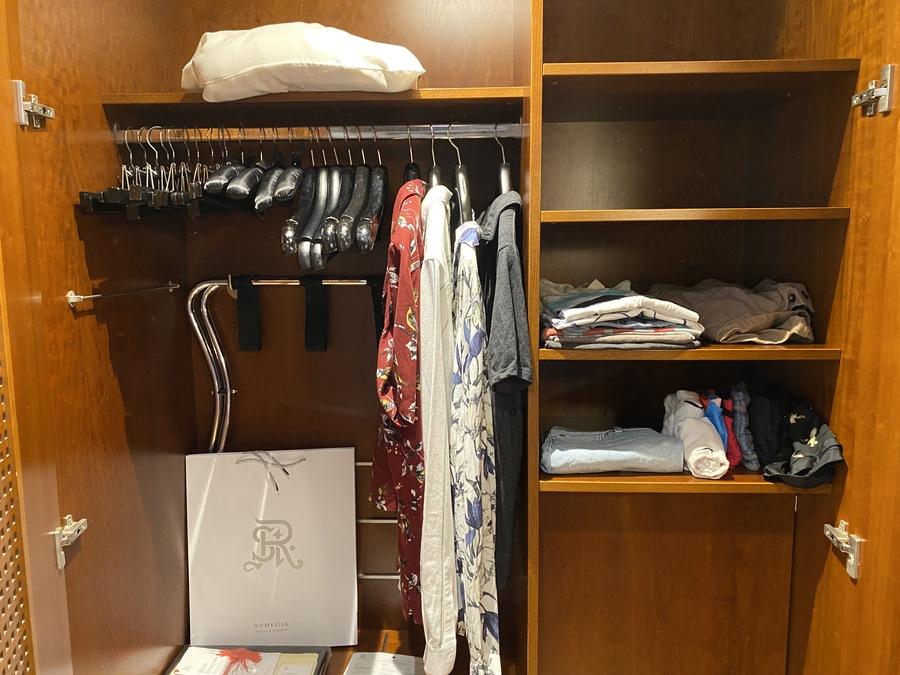 St Regis Mardavall butler unpacking