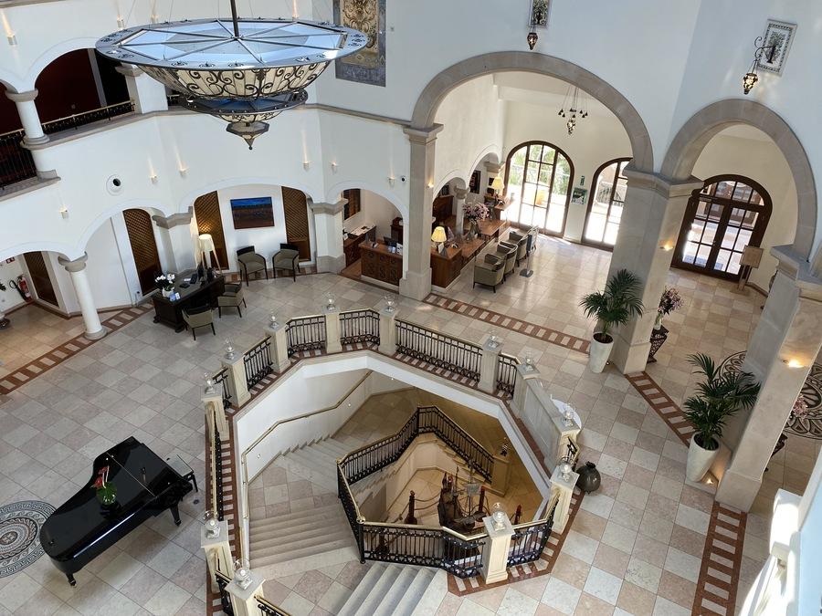 St Regis Mardavall lobby view