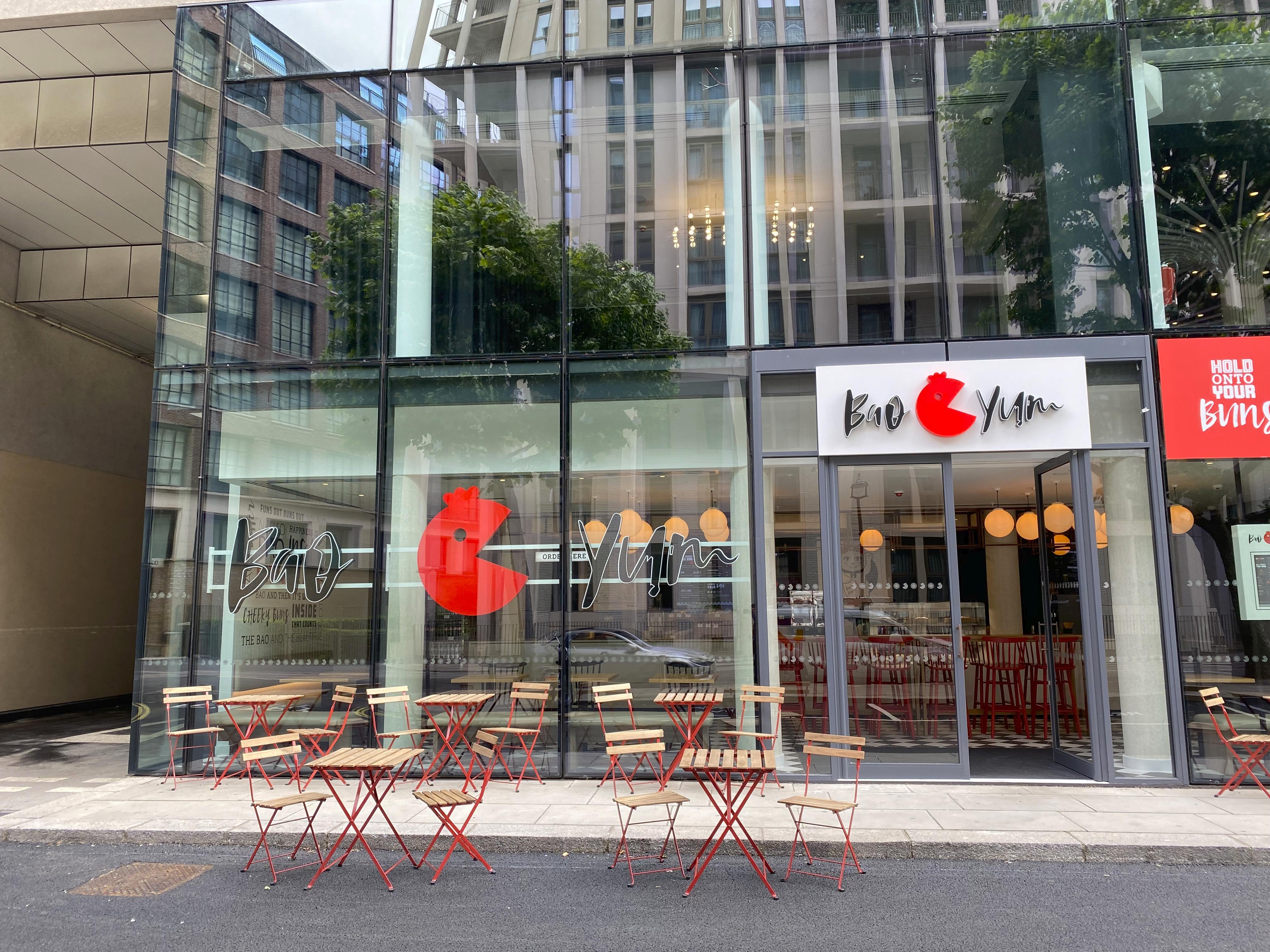 The Westminster London Bao Yum hotel restaurant