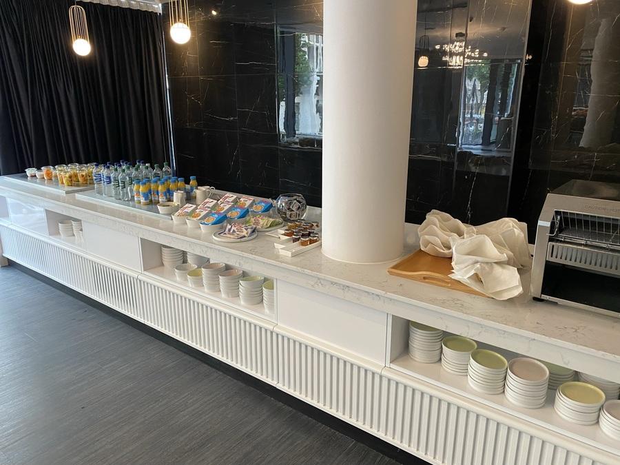 The Westminster London hotel breakfast
