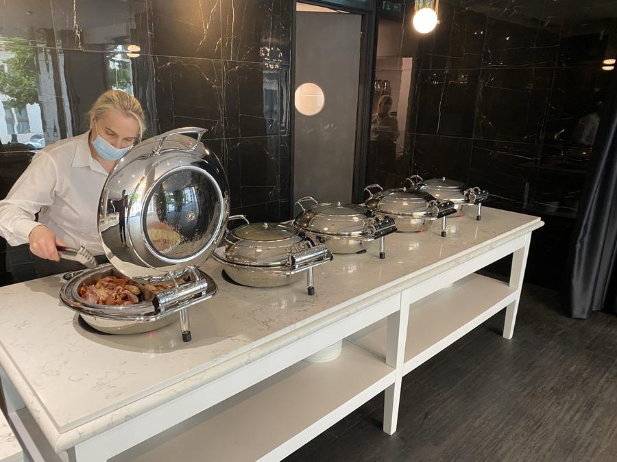 The Westminster London hot breakfast hotel