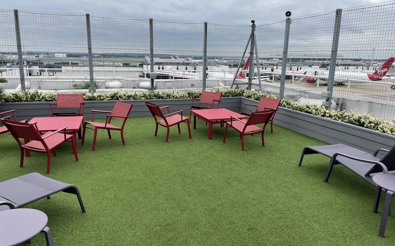 The Virgin Clubhouse lounge at Heathrow Terminal 2 reopens